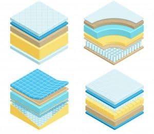 colchones individuales de esponja