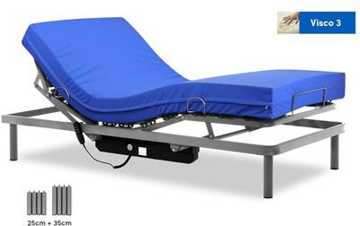 camas articuladas electricas con colchon