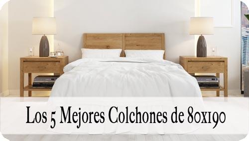 Colchón 80x190