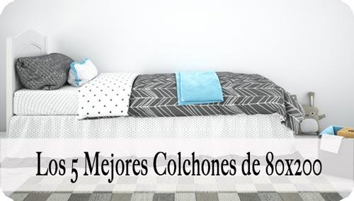 Colchón 80x200