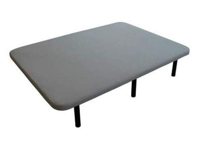 base tapizada 135x190 con patas