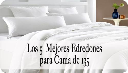Edredón para cama de 135