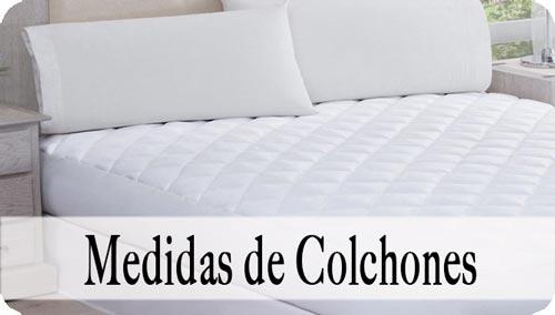 Medida de colchón
