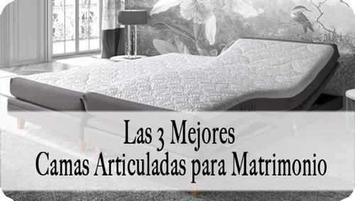 cama articulada para matrimonio