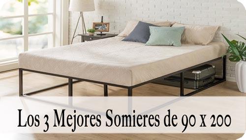 Somier 90x200