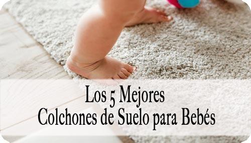 colchón de suelo para bebé