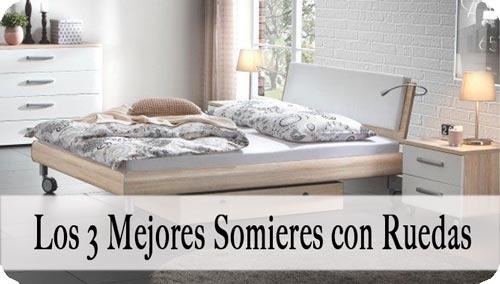 Somier con Rueda
