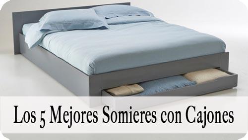 Somier con Cajones