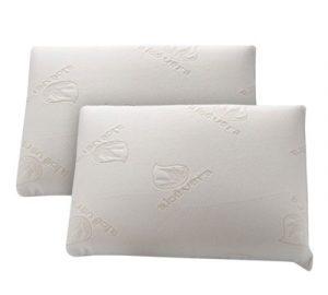 almohada fibra firmeza alta