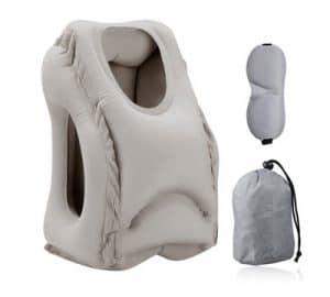 almohada de cuello para viaje
