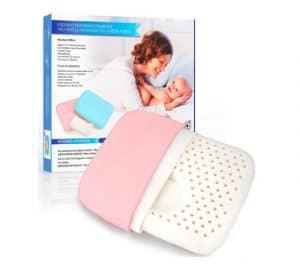 almohada bebe para plagiocefalia