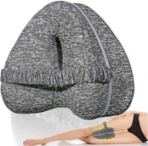 almohada ortopedica para piernas