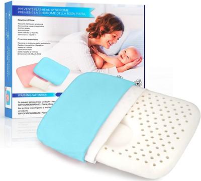 almohada para evitar plagiocefalia