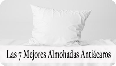 Mejor Almohada Antiacaros
