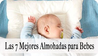 mejor almohada para bebé