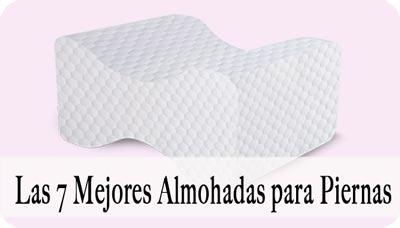 mejor almohada para piernas